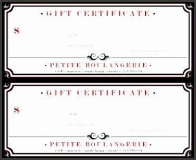 restaurant t certificates templates