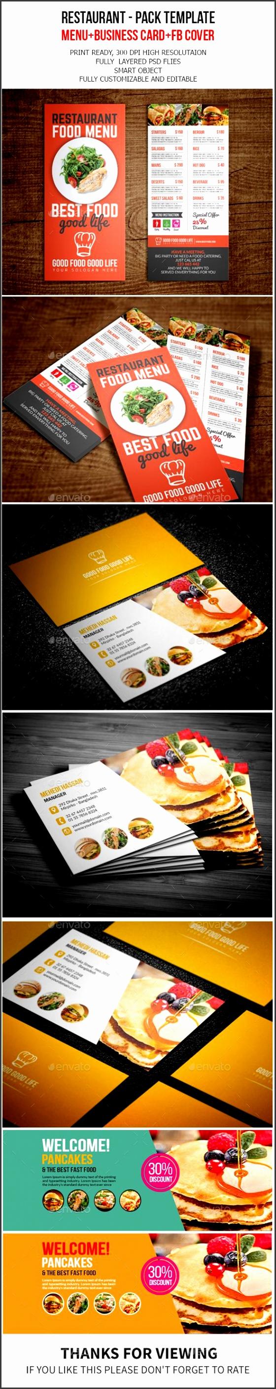 Restaurant Pack Template