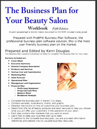imagessample business plan for salon