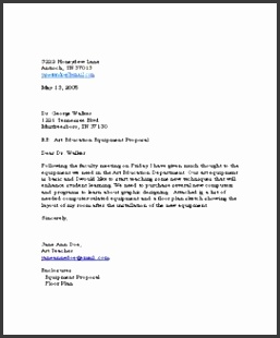 Business Letter Template for Word