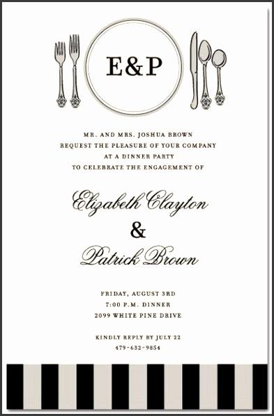 Informal Invitation Letter For Dinner Party Formal Dinner Invitation Sample Formal Invitation Invitation