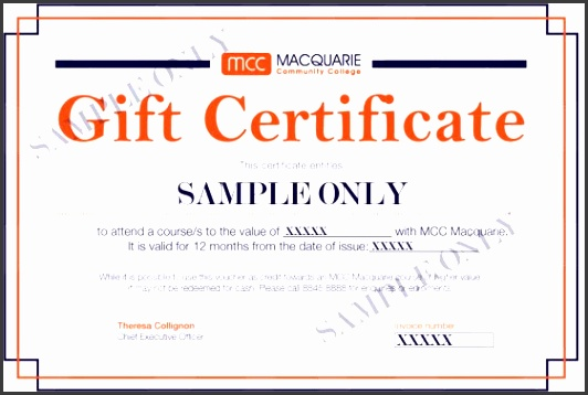 Here are some sample t certificates