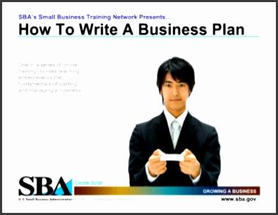Sba Business Plan Template Business Plan Samples