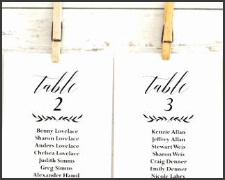 Wedding Seating Chart Template Wedding Seating Chart Printable Rustic Wedding Seating Cards Seating