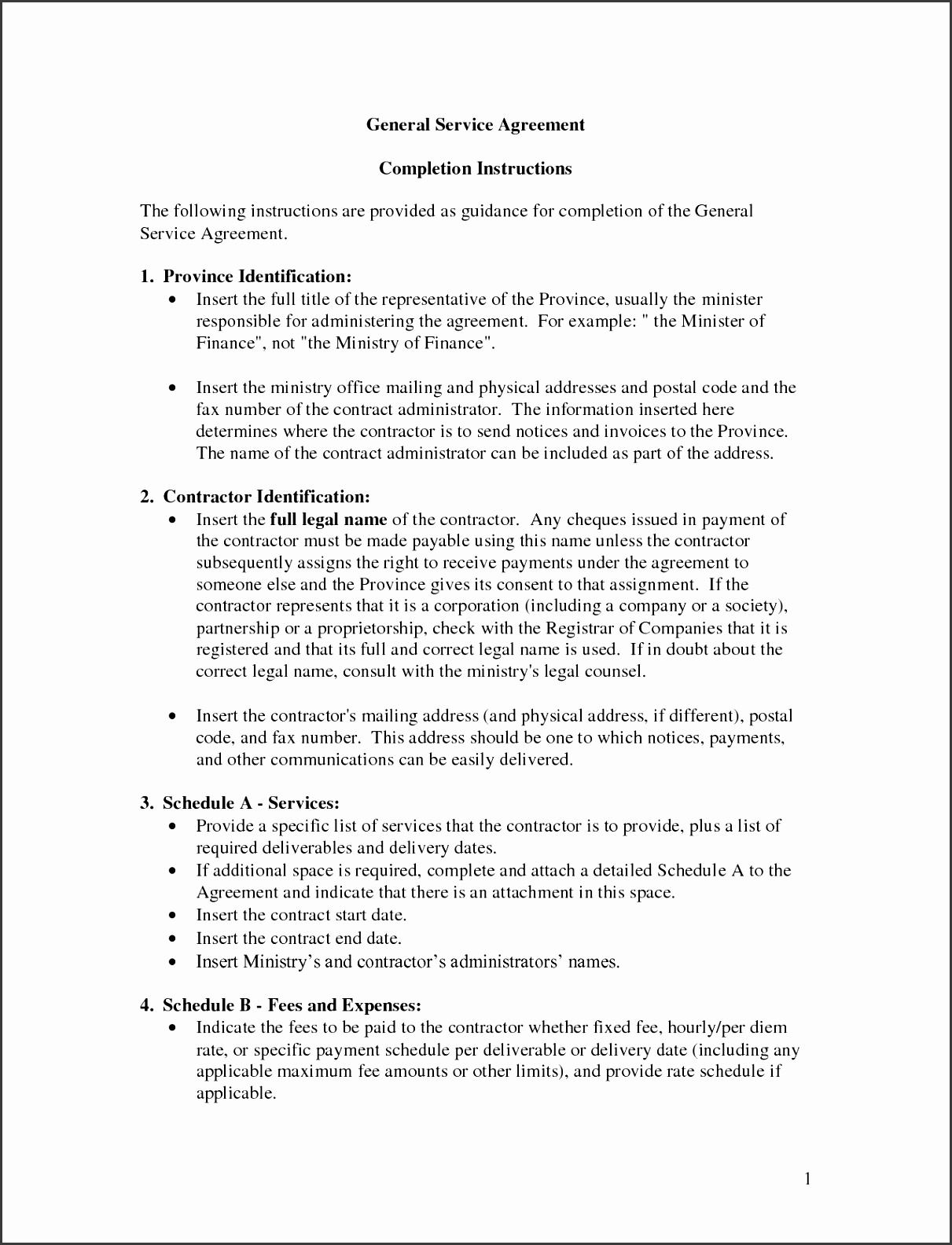 Bunch Ideas General Service Agreement Template by Banter General Contract Fantastic Services Agreement Template