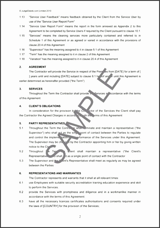 Cleaning Service Contract Example 25 Unique Cleaning Contracts Ideas Pinterest Cleaning