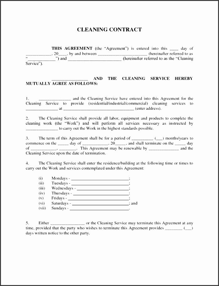 5 service level agreement template for training providers for Service provider agreement template free