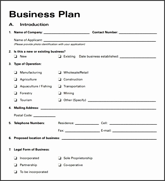 Short Business Plan Template  Sampletemplatess  Sampletemplatess