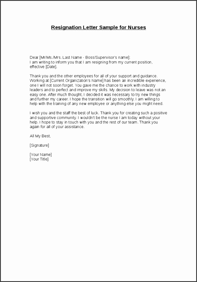 Samples Letter Resignation Letter Resignation Samples Template