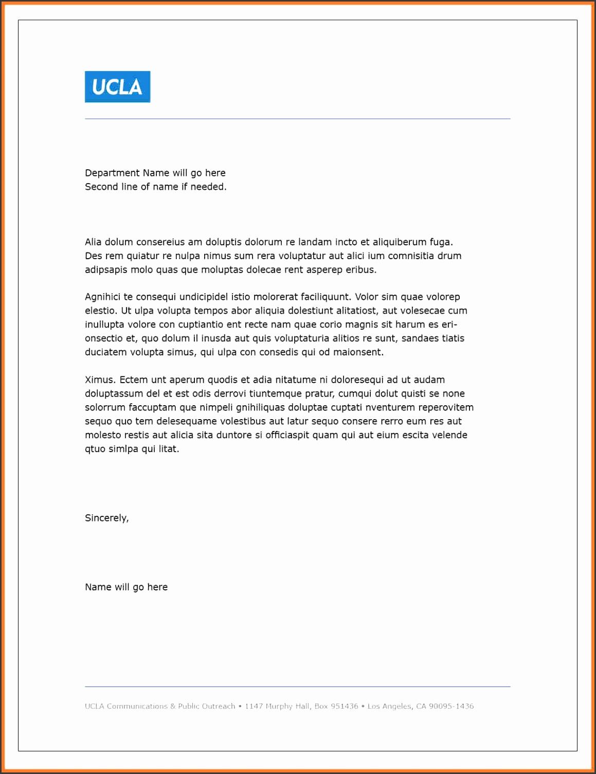letterhead templates in word Simple Letterhead Template 5