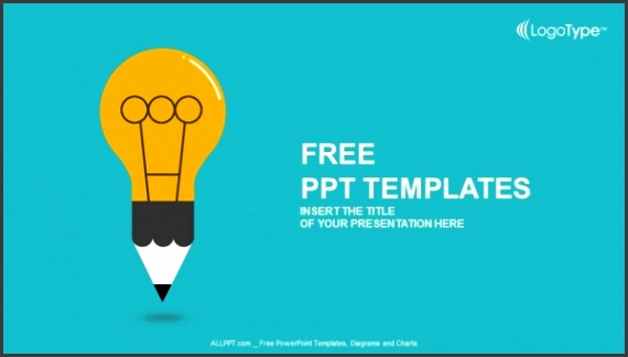 template ppt education symbol bulb powerpoint templates ideas