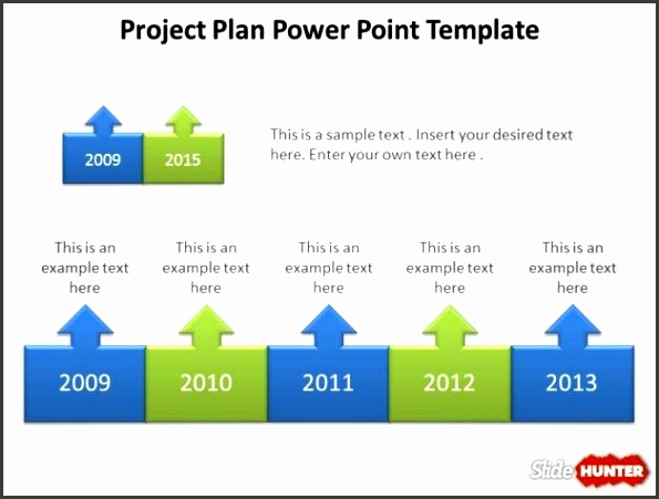 Project Planning PowerPoint template design with free