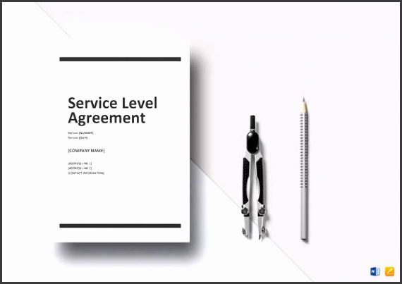 simple service level agreement template