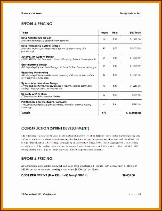 software development statement of work exampleatement of work template consulting software project statement of work document sample 9 638 cb