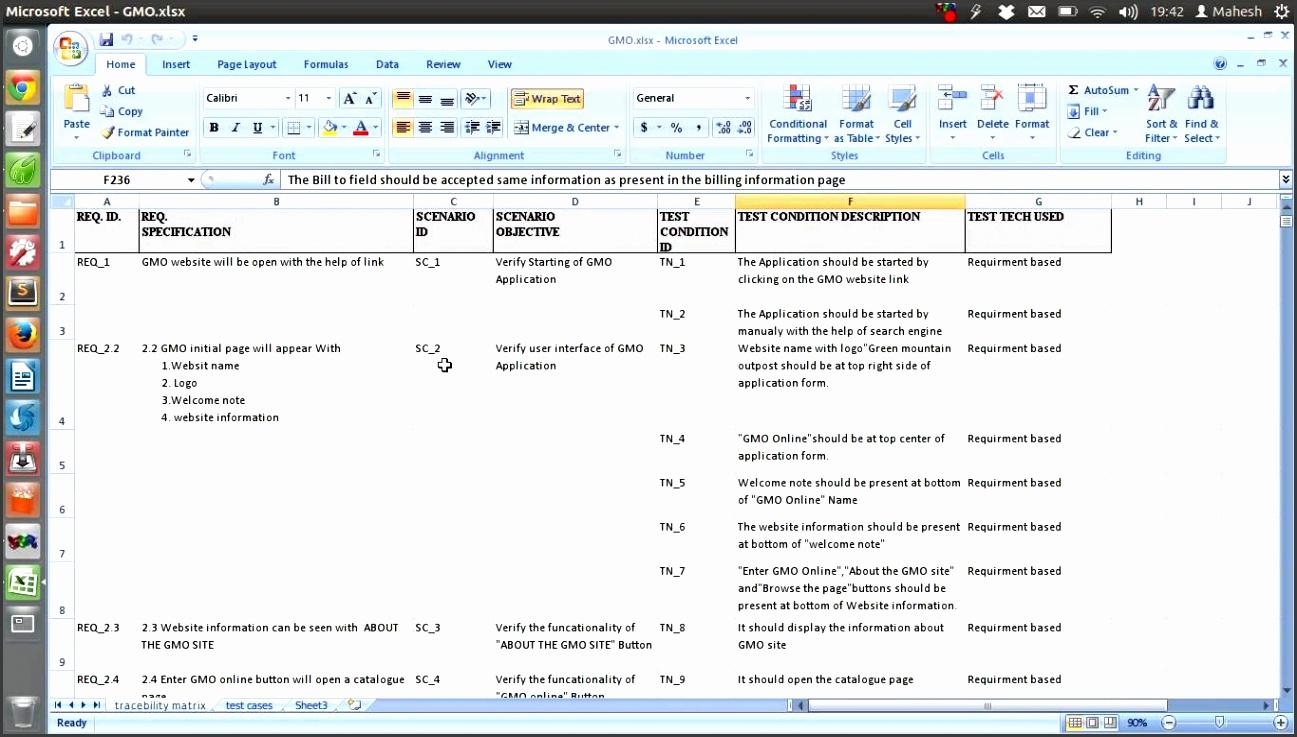 IEEE Std 829 Test Plan Scenario Template