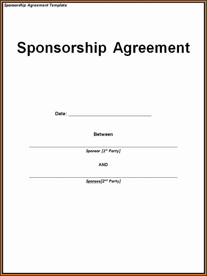 Sponsorship Invoice Template Word – Createcloud Sponsorship Invoice Template