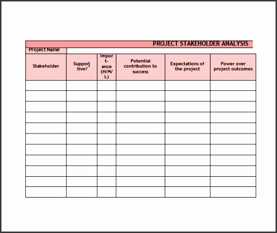 Stakeholder Analysis PowerPoint Template SketchBubble View r