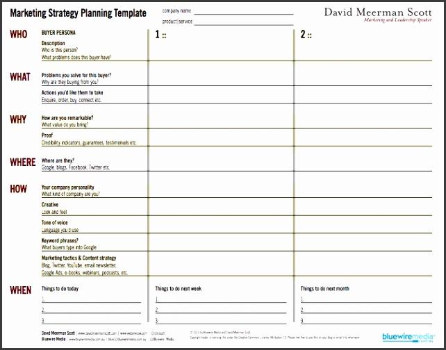 free marketing plan template best business template marketing strategy template