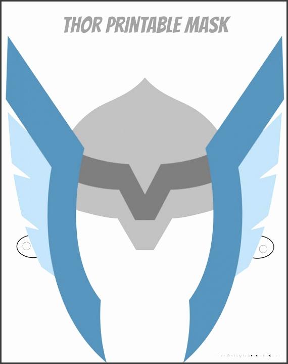 Free superhero printable masks Six designs to choose from