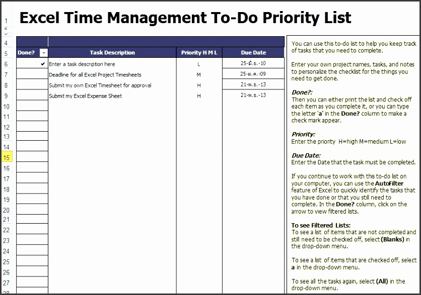 todo list template excel checklist template task list template word free