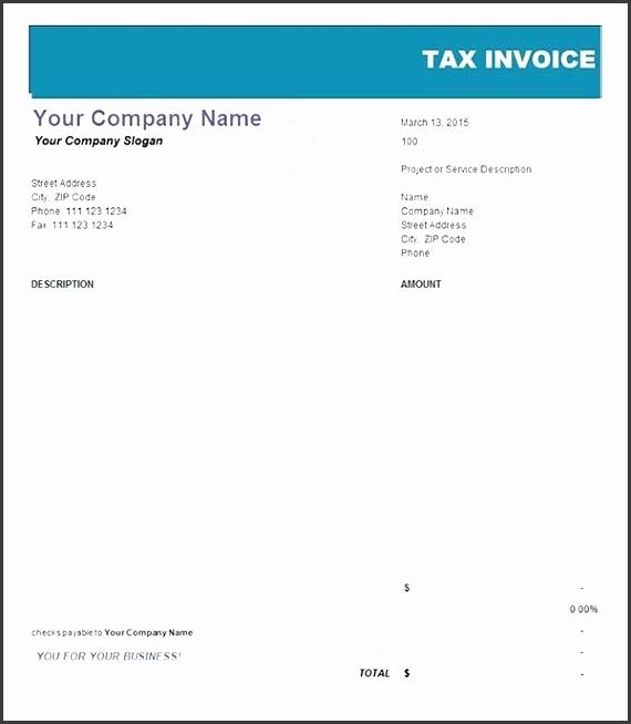 7 Tax Invoice Template Australia - SampleTemplatess - SampleTemplatess