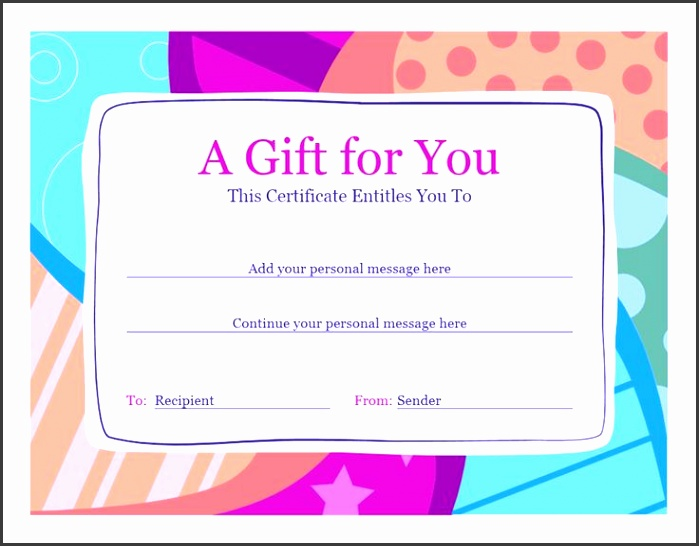 Gift Certificate Voucher Template Best 25 Gift Certificate Template Word Ideas Pinterest