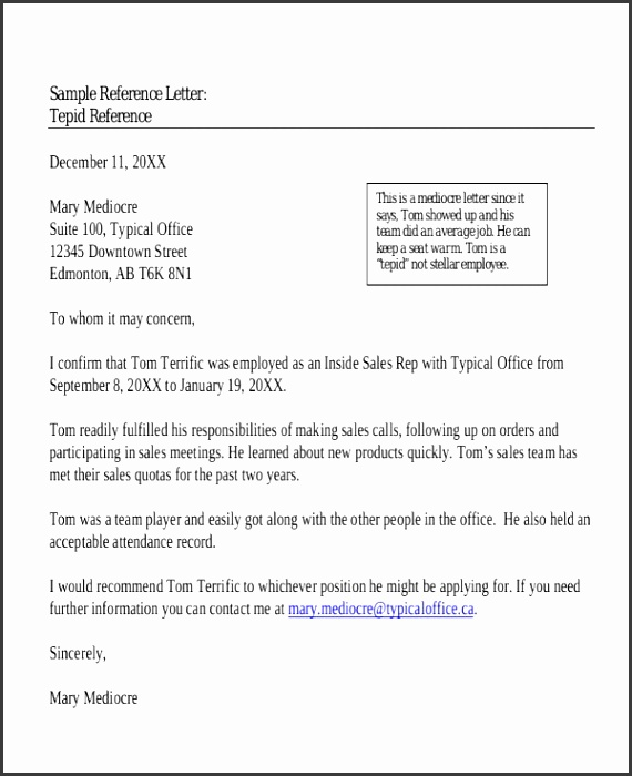 Personal reference letter template cooperative imagine character for job