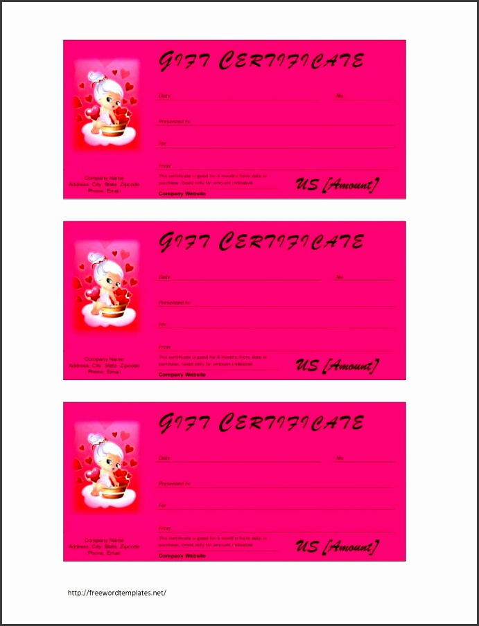 Permalink to Unique Templates Gift Certificates