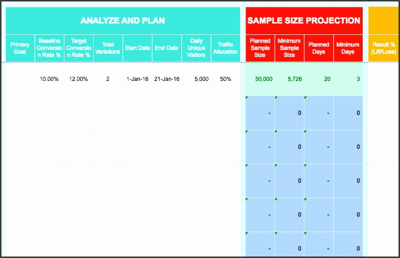 Templates to plan and execute your 2016 tests