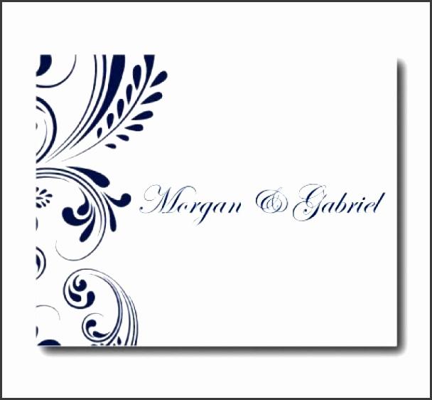 Wedding Thank You Card Template Navy Wedding EDITABLE TEXT Wedding Thank You Instant Download Microsoft Word Weddbook