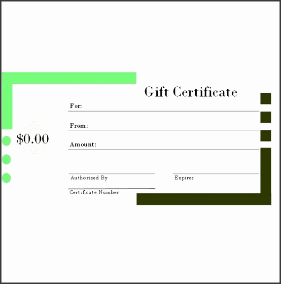 6 Free Printable Gift Certificate Templates for MS Publisher