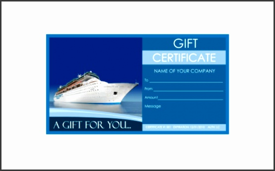 Travel Gift Certificate Templates 7 Free Word PDF PSD Documents Download
