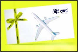 Give the t of travel with an airBaltic t e voucher