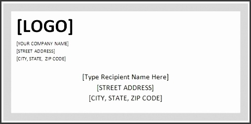 shipping label template