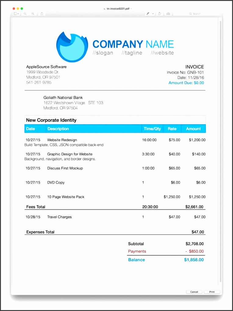 Template Applesource Software Timenet Invoice Templates Time Tracking P Uk Vat Invoice Template