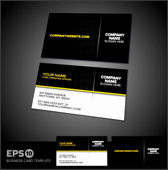 Business cards template 02 vector material