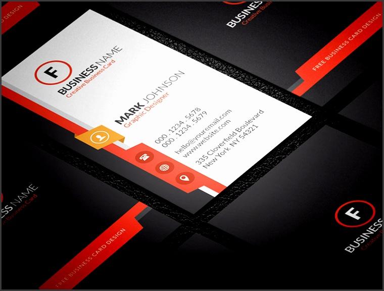Free Modern & Sleek Vertical Business Card Template