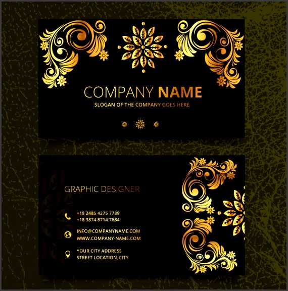 Vintage business card template free vector 34 246 Free vector for mercial use format ai eps cdr svg vector illustration graphic art