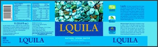 Mineral water bottles Labels Download