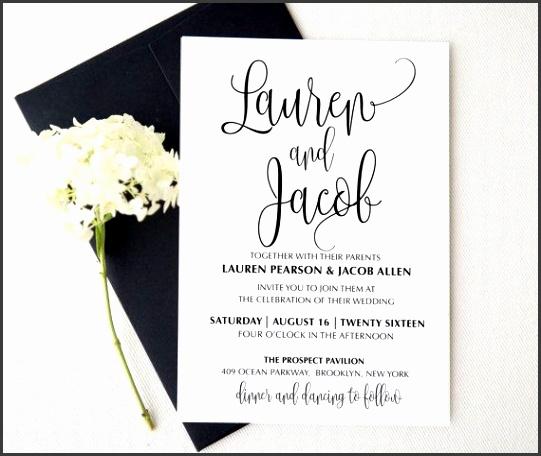 Wedding invitation template Printable Wedding Invitation Suite Wedding…