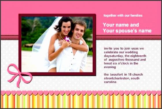 Wedding Invitation Templates shop
