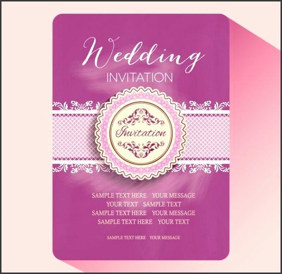 Free Wedding Invitation Card Template Editable Wedding Invitations intended for Editable Wedding Invitation Templates Free Download