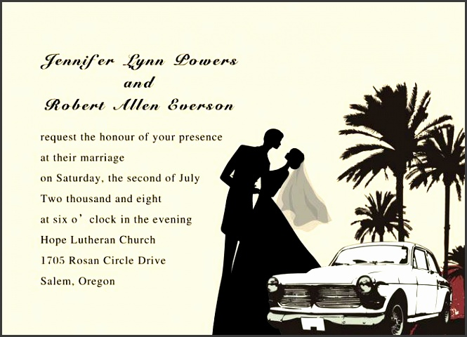 Wedding Invitations Wording Samples From Bride And Groom: 5 Wedding Invitation Wording Bride And Groom Hosting