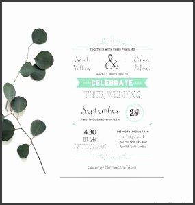 Free Wedding Invitation Templates from Mountain Modern Life