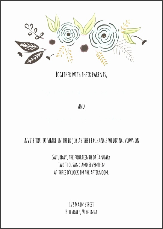 Wedding Invitation Templates Word With 529 Free Wedding Invitation Templates You Can Customize