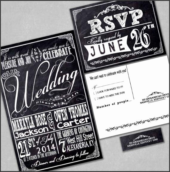 Wedding Invitation Address Label