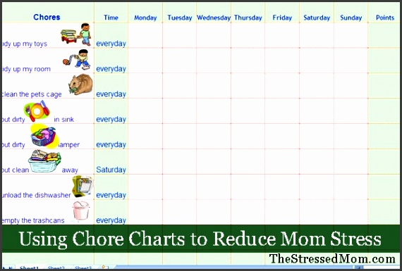 Weekly chore chart template Weekly Chore Chart Template Creative Gallery Using Charts Reduce Mom Stress with