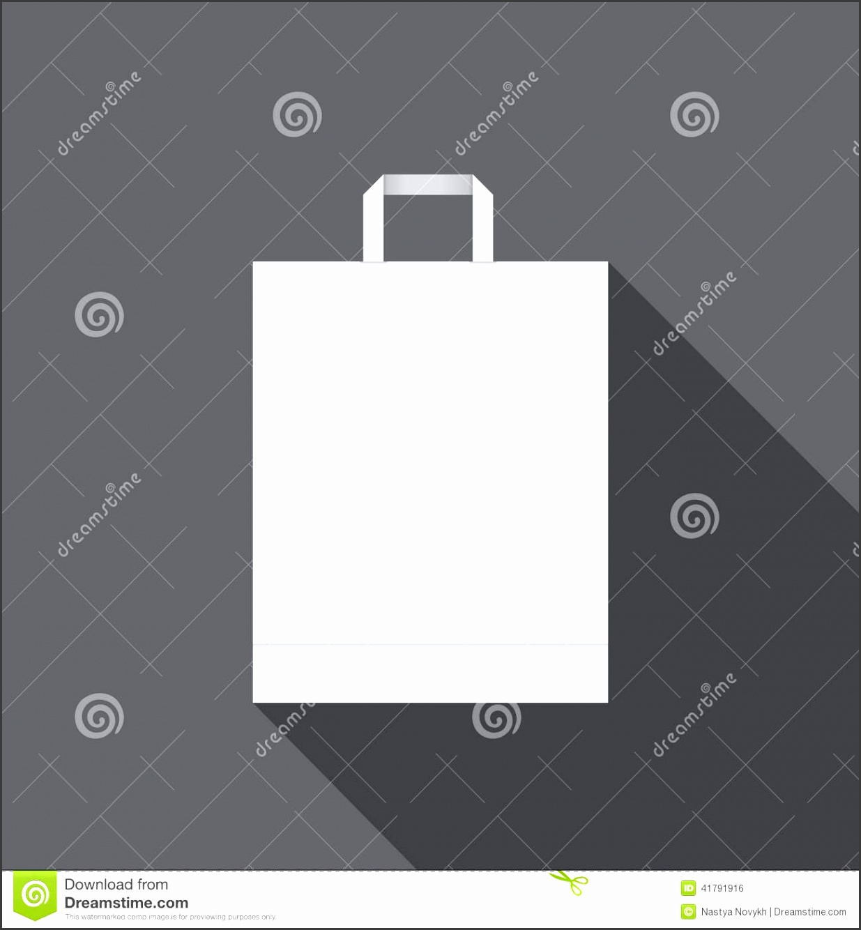 White Paper Bag For Shopping Stock Image Clean Shadow White Paper Bag Shopping Blank Store Template Design Stock White Paper Bag