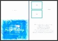 Microsoft Word Birthday Card Template 5