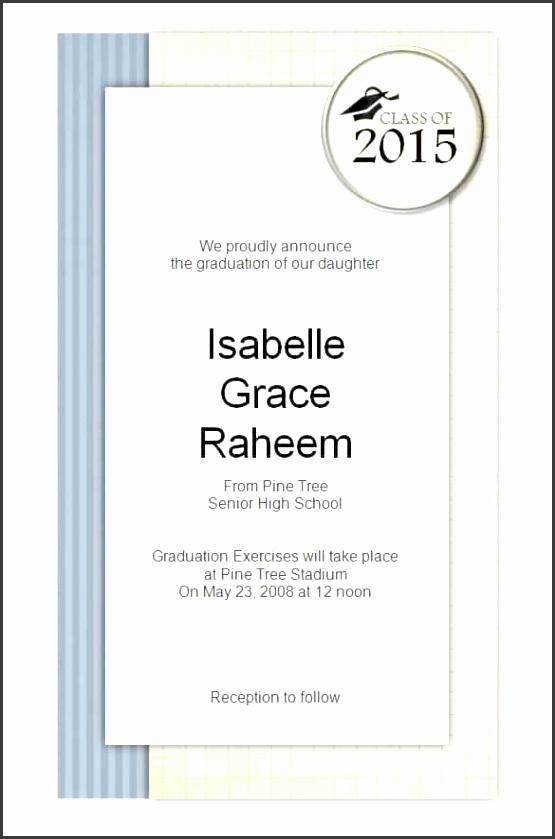 Graduation Party Invitation Templates Microsoft Word